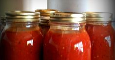 I have tried several different spaghetti sauce recipes and always come back to this. We love it and it looks so pretty in the jars. 16 lbs...