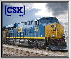 Mouse Pad CSX New Diesel