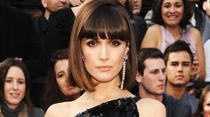Bangs are so hot right now (and yes, you should get them). Rose Byrne