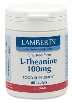 Lamberts L-Theanine (60 Tablets) Lamberts L-Theanine (60 Tablets): Express Chemist offer fast delivery and friendly, reliable service. Buy Lamberts L-Theanine (60 Tablets) online from Express Chemist today! (Barcode EAN=5055148405397 http://www.MightGet.com/january-2017-11/lamberts-l-theanine-60-tablets-.asp