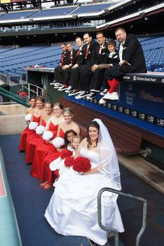 Google Image Result for http://sportsroses.com/wp-content/uploads/2012/09/james_sharon_baseball_wedding_7.jpg