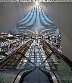 Santiago Calatrava - Gare de Liège-Guillemins