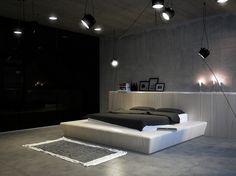 Interior design for a roof apartment in Kiev, Ukraine by Vitaliy Yurov