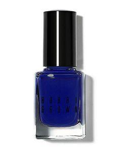 New from Bobbi Brown: Navy Nails!