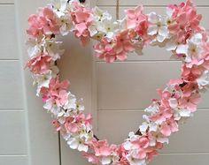 Shabby Chic Wedding Bridal Wreath Boho by Chiclaceandpearls