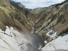 Grand Canyon of the Yellowstone | ParksFolio by David Wherry #nationalparks #yellowstone
