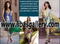 New fashion clothes, latest dress styles, clothing shops, clothes shop, clothing store, unique clothing, cute clothes, Pakistani Designers, Bridal Collection, Tunics, Frocks,Casual Wear,  Embroidered, Lawn Exhibitions, the most surprising designer Asifa & Nabeel Lawn collection has been finally out. A versatile lawn prints for sunny days are vibrant like heat, shiny like sun and charming like spring.Latest Clothes Fashion Online UK USA Canada Australia Saudi Arabia Bahrain…
