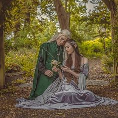She was always really close to her father Avatar Costumes, Elven Costume, Elf Cosplay, Fantasy Couples, Wood Elf, Fantasy Dress, Medieval Fantasy, Character Inspiration, Writing Inspiration