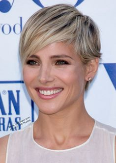 Short blond hairstyles. ?? Its different.