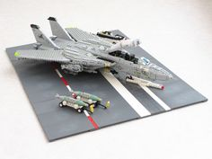 """Blacklions Tomcat diorama"" by Mad physicist: Pimped from Flickr"