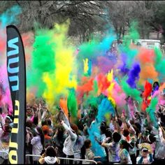 2012 Color Run -- Dallas, TX. So Much Fun! If it comes to your city, do not miss out!!!!