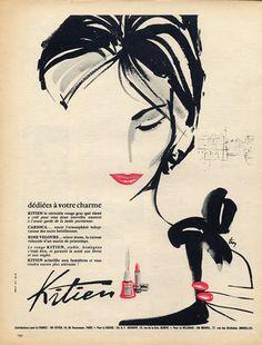 Vintage French Adverts, Fashion Drawings, Magazines, Illustrations, Gruau, Vogue, Art Deco, La Vie Parisienne...