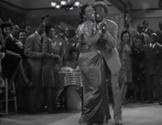 """Cabin in the Sky - The other seminal African-American movie musical of 1943 alongside Stormy Weather (both featuring Lena Horne) was this adaptation of a Broadway play. Ethel Waters stars, and her performance of """"Happiness Is a Thing Called Joe"""" in the movie earned the tune an Academy Award nomination for Best Original Song. African American Movies, Ethel Waters, Lena Horne, Broadway Plays, African Diaspora, That's Entertainment, About Time Movie, Original Song, Old Movies"""