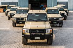 Armoured Toyota Land Cruiser 79