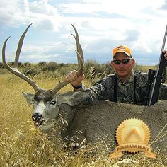 Wyoming Hunting Private Land Rifle Mule Deer on Acres Mule Deer Buck, Mule Deer Hunting, Wyoming, Acre, Alaska, North America, Goats, Westerns, Animals