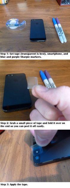 Black Light Phone Hack #Technology #Trusper #Tip