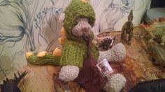 #bear #crochet http://eltallerdesahiel.blogspot.mx