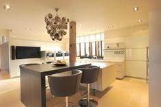 Super modern and clutter-free kitchen