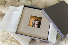 Design Aglow Albums - Handmade affordable linen albums