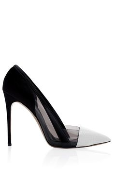 Casadei x Prabal Gurung Embossed Toe Cap Pump by Prabal Gurung