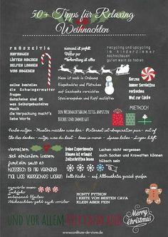 50 Tipps für entspannte Weihnachten