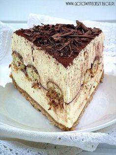 Tiramisu cheesecake... this looks amazing! by beatrix.papp