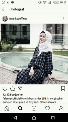 Hijab Wear, Casual Hijab Outfit, Hijab Chic, Abaya Fashion, Modest Fashion, Fashion Dresses, Square Hijab Tutorial, Hijab Dpz, Hijab Stile