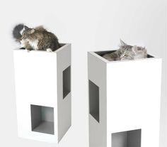 Cat Beds Saltato Intellato Modern Cat Furniture Pets Trends Contemporary Cat