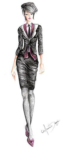 Desenho de Moda de Marcio Souza