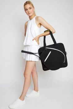 Check out our Black Ame & Lulu Ladies Sweet Shot 2.0 Tennis Tote Bag! Find the best tennis gear and accessories at Lori's Golf Shoppe. Click through now to see this!