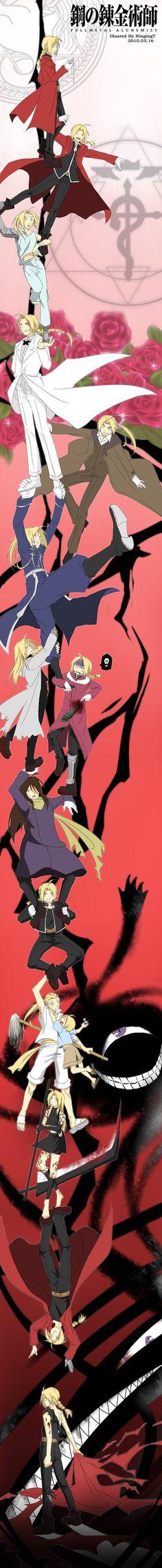 Just finished Fullmetal Alchemist: Brotherhood. A wonderful ending!<======== One of my favorite animes!!!!
