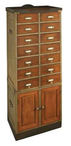 there is something so lovely about a specialized cabinet, apothecary, card catalog, what have you...