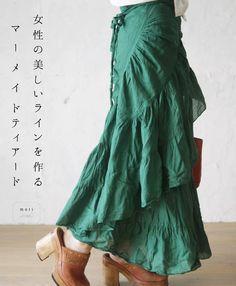 cawaii mori 女性の美しいラインを作るマーメイドティアード