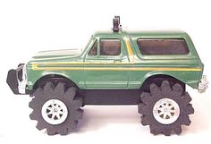 Battery Operated Working. Electronic, Battery & Wind-up Popular Brand Vintage Ljn Rough Rider Stomper 4x4