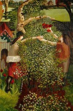 'Neighbours' by Stanley Spencer,1936 (oil on canvas)