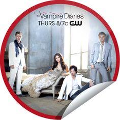 (New) The Vampire Diaries Milestone Sticker | GetGlue
