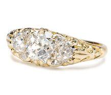 Circa Jewelry-Diamonds | Victorian Engagement Rings (Circa 1840 - 1890)
