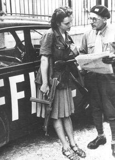 Italian Partizan Woman 1944
