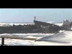 Dramatic Rescue As Cargo Ship Splits In Two