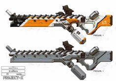 ArtStation - District 9 - Weapons and Props, WETA WORKSHOP DESIGN STUDIO