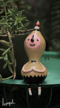 "Figure from ""GOAJITOS (4-Pc Toy Set)"" by Monterey, Mexico toy designer lepapel. 2013 | via Behance"