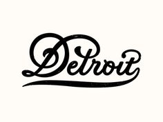 Motor City designed by Steve Wolf. Connect with them on Dribbble; Types Of Lettering, Script Lettering, Script Type, Typography Letters, Graphic Design Typography, Lettering Design, Logo Design, Type Design, Typography Inspiration
