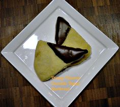 Orange Dipped Chocolate Covered Shortbread