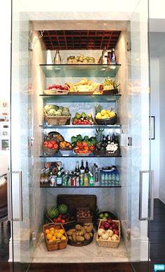 Yolanda Hadid Foster's fridge organization, talk about fridge envy!  -HR