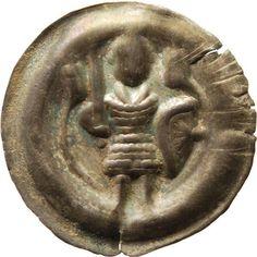 Brakteat Otto, Meissen, Markgraf (1125-1190)|Münzherr Meissen, o.J. (1156-1190) Münzkabinett Material and Technique Silber, geprägt Measurement Durchmesser: 24,4 mm, Gewicht: 0,894 g