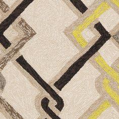Hand-hooked Beige Indoor/Outdoor Geometric Rug (9' x 12') - Overstock™ Shopping - Great Deals on 7x9 - 10x14 Rugs