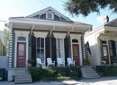 New Orleans shotgun house i
