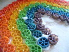 Pasta rainbow