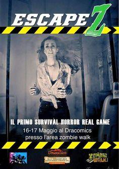 Evento Zombie Survival. Tutte le info su zombiewalkitalia.com/ZombieWalkDracomics