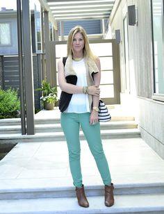 Mint jeans!